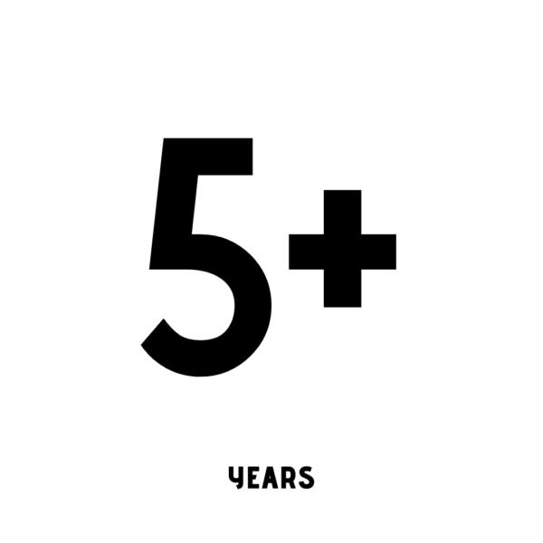 5+ years